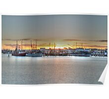 mooloolaba harbour  Poster