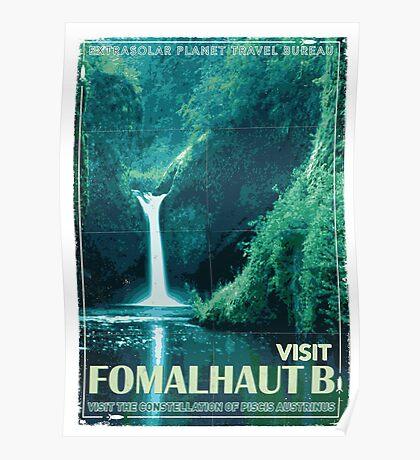 Exoplanet Travel Poster Fomalhaut B Poster