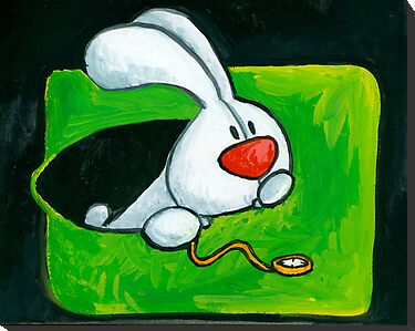 rabbit in a hole by Sanne Thijs