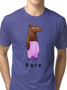 Bare Bear Tri-blend T-Shirt