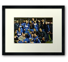 Gornal Athletic - Cup Winners 2012 Framed Print