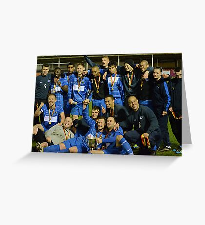Gornal Athletic - Cup Winners 2012 Greeting Card