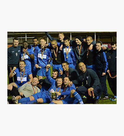 Gornal Athletic - Cup Winners 2012 Photographic Print
