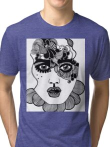 Swirly Doodle Tri-blend T-Shirt
