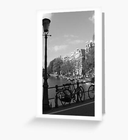 Amsterdam Aug Greeting Card
