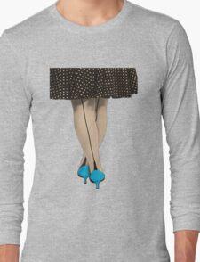Hot Shoes - Blue! Long Sleeve T-Shirt