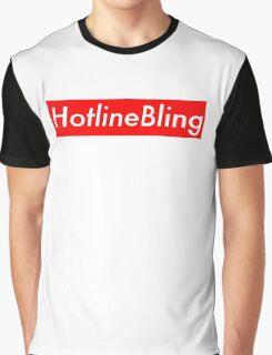 Drake Hotline Bling (Supreme) Graphic T-Shirt