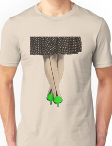 Hot Shoes - Green! Unisex T-Shirt