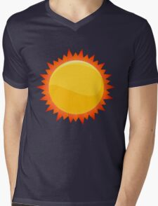 Sun Mens V-Neck T-Shirt
