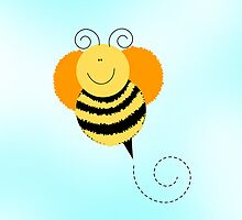 Bee Hop iPhone Case by JessDesigns
