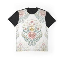 Antique pattern - Beetle and centipedes Graphic T-Shirt