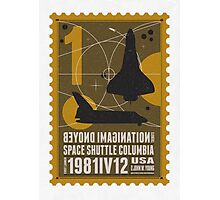 Starship 01 poststamp - Spaceshuttle  Photographic Print