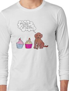 Cupcake Power Long Sleeve T-Shirt