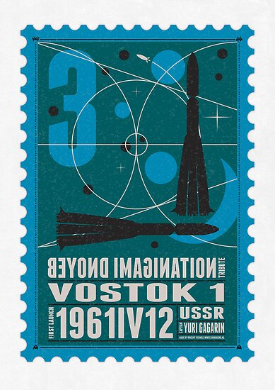 Starship 03 - poststamp - Vostok by Chungkong