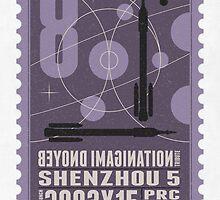 Starship 08 - poststamp - Shenzhou5  by Chungkong