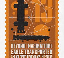 Starship 13 - poststamp - Space1999  by Chungkong