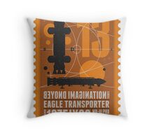 Starship 13 - poststamp - Space1999  Throw Pillow