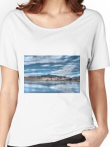 Blue Landscape Women's Relaxed Fit T-Shirt
