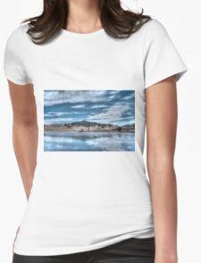 Blue Landscape Womens T-Shirt