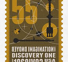 Starship 55 - poststamp - DicoveryOne  by Chungkong