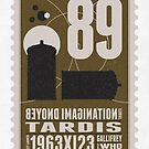 Starship 89 - BONUS - poststamp - DRWHO - TARDIS by Chungkong
