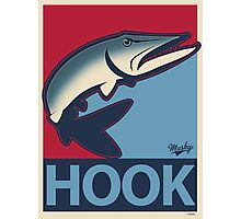 Musky Hook Photographic Print