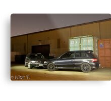 Stagea and Starlet Metal Print