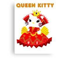 Queen Kitty Canvas Print