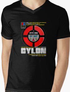 Cylon Says Mens V-Neck T-Shirt