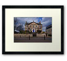 East London Street Framed Print