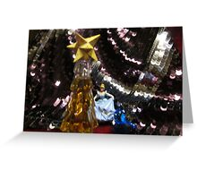Glittering lights at Cinderella's ball Greeting Card