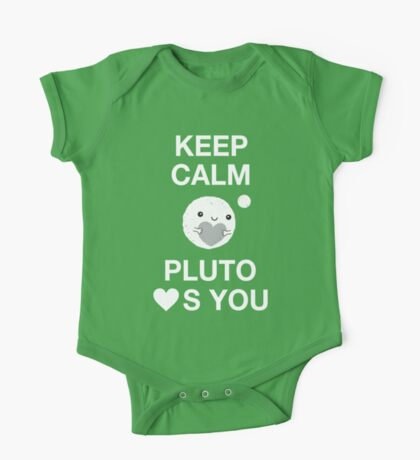 Keep Calm – Pluto Loves You One Piece - Short Sleeve