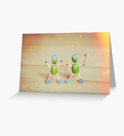 Acorn people Greeting Card