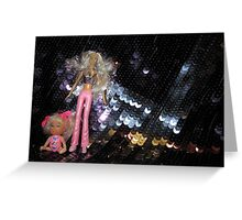 Glitterbabes Greeting Card