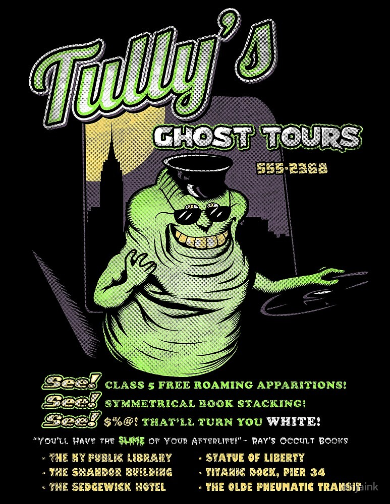 Tully's Ghost Tours by ninjaink