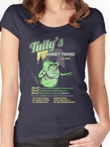 Tully's Ghost Tours Women's Fitted Scoop T-Shirt
