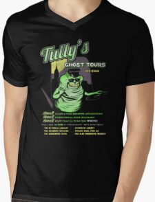 Tully's Ghost Tours Mens V-Neck T-Shirt