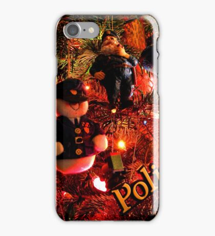 Officers Christmas II iPhone Case/Skin