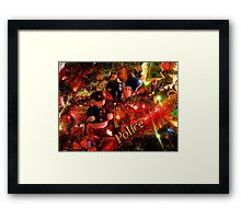 Officers Christmas II Framed Print