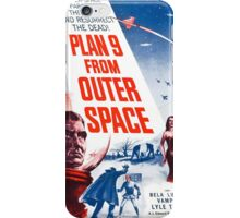 B Movie: Plan 9 from Outer Space iPhone Case/Skin