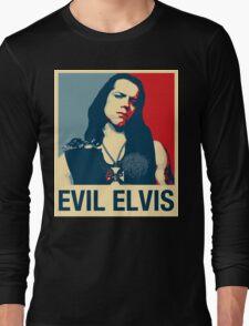 Evil Elvis Long Sleeve T-Shirt