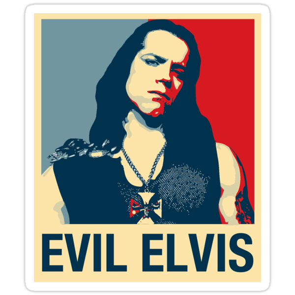 Evil Elvis by Jay Williams