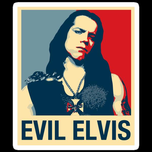 Evil Elvis by Jay Williams