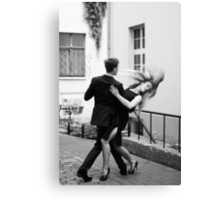 Two dancers Canvas Print