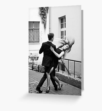 Two dancers Greeting Card