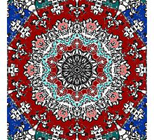 My devilish persian rug Photographic Print