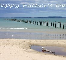 "Bridport in Tasmania ""Happy Father's Day"" Card by Sandy1949"
