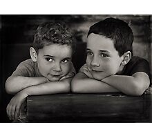 Mischief Makers Photographic Print