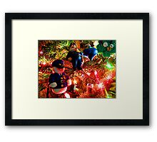 Officers Christmas I Framed Print