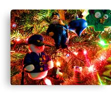 Officers Christmas I Canvas Print